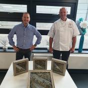 Grunwerg judges Star Chef Competition at North Hertfordshire College