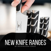 Brand New Knife Ranges From Rockingham Forge