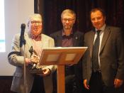 Charles and David Grunwerg receive the Donald Bird award!