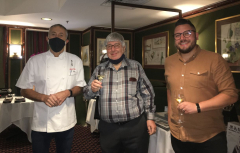 Grunwerg unveiled its Autumn Collection of Premier Kitchen Knives at Le Gavroche!
